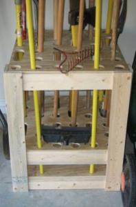 ящик для садового инвентаря